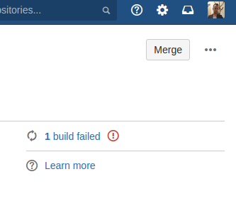 Build status in Bitbucket Server
