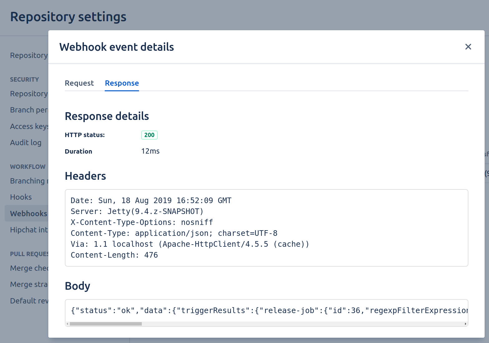 Release from Jenkins by pushing Git tags